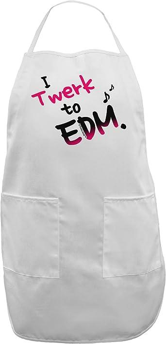 TooLoud Twerk to EDM Pink Dark Muscle Shirt