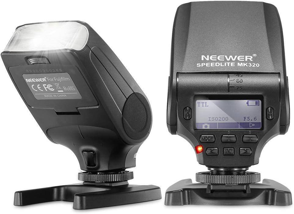 Neewer Mk320 Ttl Lcd Display Blitz Speedlite Für Kamera