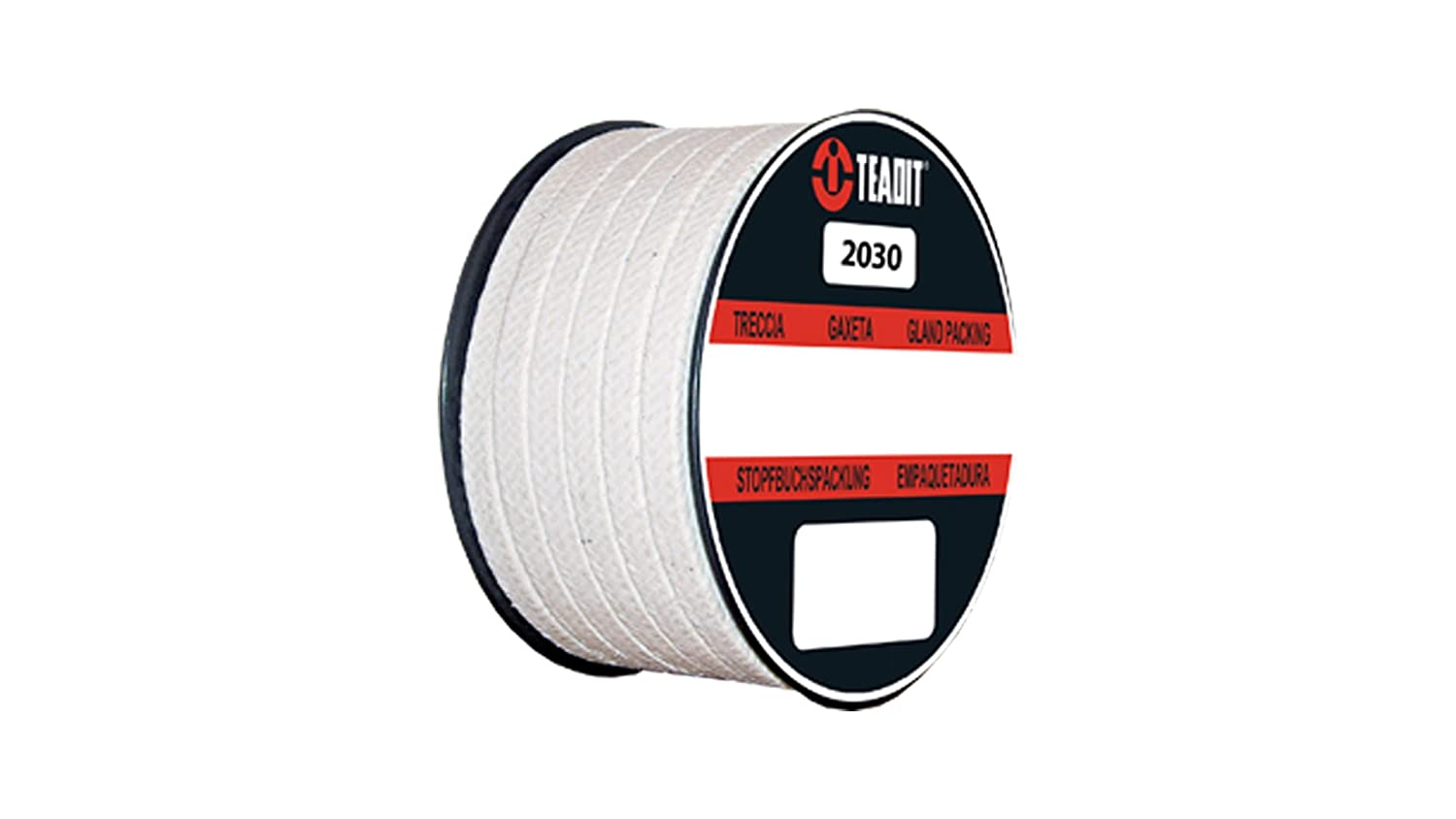 2030.562x2 Teadit Style 2030 Meta-Aramid with PTFE and Mineral Oil Packing STCC Sterling Seal and Supply 9//16 CS x 2 lb Spool 9//16 CS x 2 lb Spool