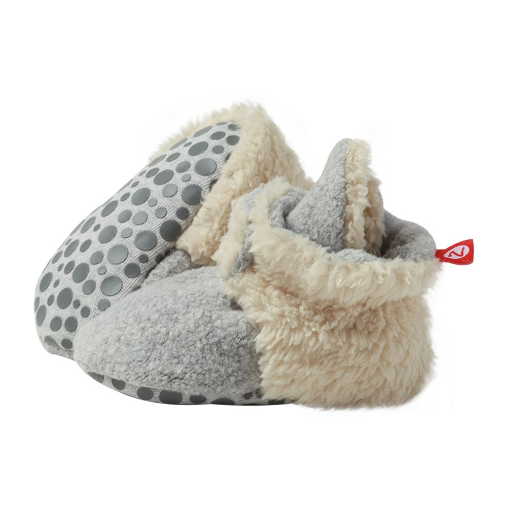 Zutano Cozie Fleece Baby Booties with