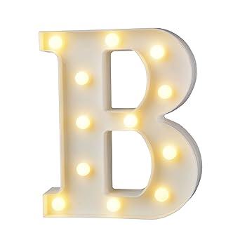 Up In Lights Led Beleuchteter Holzbuchstabe Buchstabe Beleuchtet Warmweisses Led Licht Beleuchtete Holz Buchstaben Fur Geburtstag Party Hochzeit B
