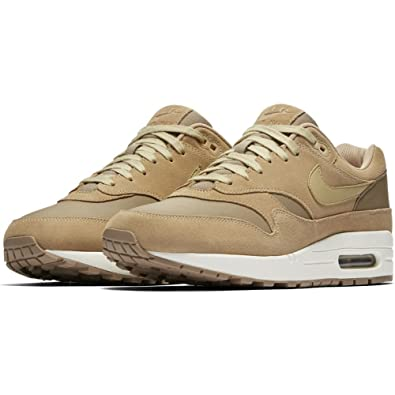 watch 7c5f6 963fd NIKE Air Max 1 Premium Leather AH9902 201 Herren Sneakers Freizeitschuhe    Low-Top