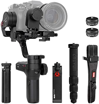 Quick Setup Kit Phone Holder Multifunctional Camera Belt and PERGEAR Cleaning Cloth Mini Monopod Zhiyun WEEBILL LAB Creater Accessories Kit Including Servo Zoom//Focus Controller