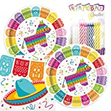 Mexican Fiesta Themed Party Pack – Includes Paper