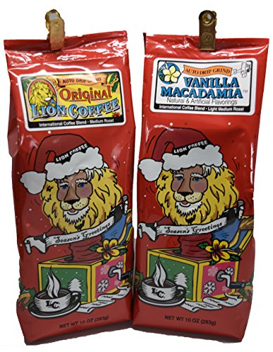 Lion Coffee Bundle with Lion Original and Lion Vanilla Macadamia