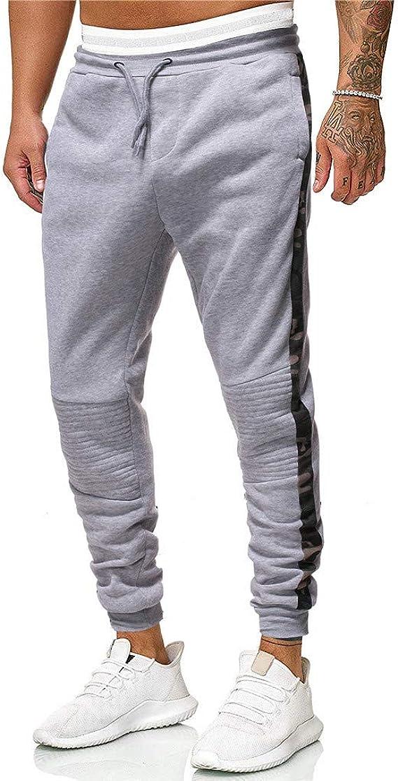 JiaMeng Sweat Pants Pantalones para Hombre Sport Jogging ...