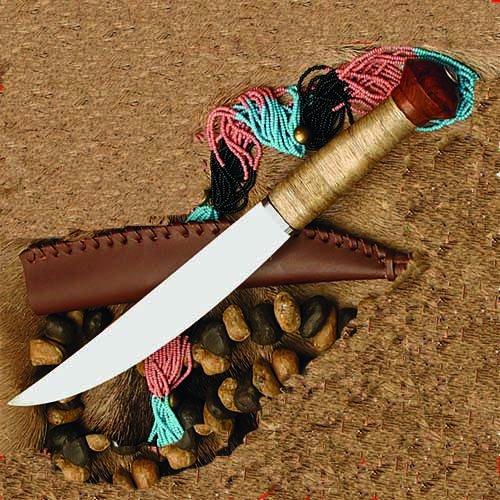 Blade Plain Sheath (Kongo African Plains Knife w/ Leather Sheath)