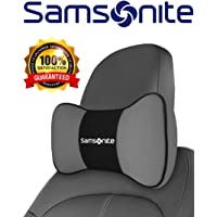 Samsonite Travel Neck Pillow for Car Car Neck Pillow Car Neck Pillow \ Gray