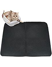 Color You Cat Litter Mat Double-Layer Cat Litter Trapper with Urine/Waterproof Base Layer (27 x 21)