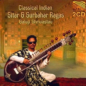 Classical Indian Sitar Surba Baluji Shrivastav Amazonde Musik