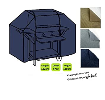 HomeStore Global Pequeña cubierta de barbacoa de gas - Gruesa y de alta calidad durable 600D