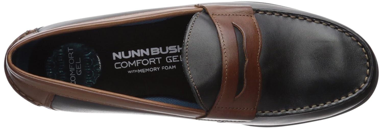 Nunn Bush Mens Drexel Penny Loafer with Kore Comfort Technology