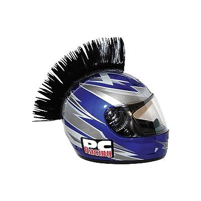 Cockscomb Head Design,Home Motorcycle Helmet Mohawk Decorative Sticker Spike Strip Universal Rubber for Helmet SEADEAR Helmet Sticker 34cm