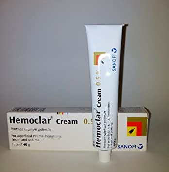 Hemoclar Bruises, Trauma and Hematoma cream 40 Grams