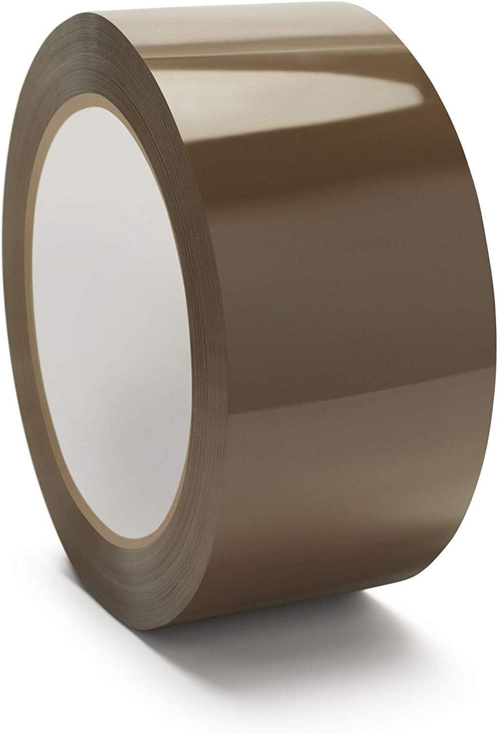 """36 ROLLS Carton Box Sealing Packaging Packing Tape 1.6 mil 2/"""" x 110 yds 330 ft"""