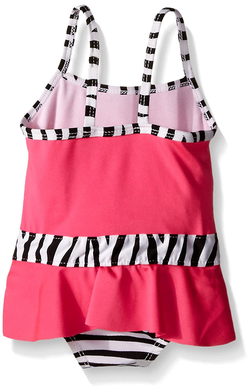 0185cc4bba Amazon.com: Wippette Baby Girls' Zebra Swim and Cover Up Set: Clothing