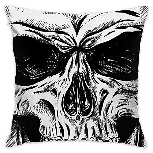 Cushion Halloween Morden Simple Life Gothic Dead Skull