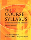 The Course Syllabus: A Learning-centered Approach, 2nd Edition