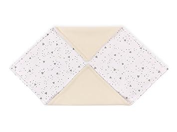75 x 75 cm gro/ße Baby-Decke KraftKids Einschlagdecke f/ür Babyschale in Musselin grau Anker luftige und praktische Musselin Decke f/ür hei/ße Tage im Sommer