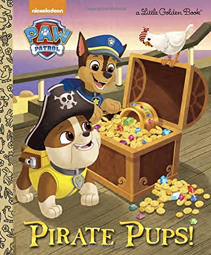 Price comparison product image Pirate Pups! (Paw Patrol) (Little Golden Book)
