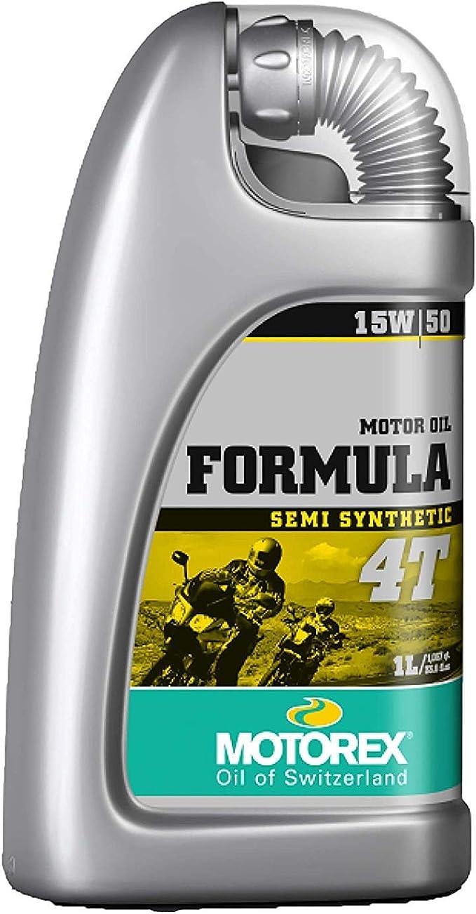 Motorex Formula 4t 15w50 Teilsynthetisches Viertakt Motorenöl 1 Liter Auto