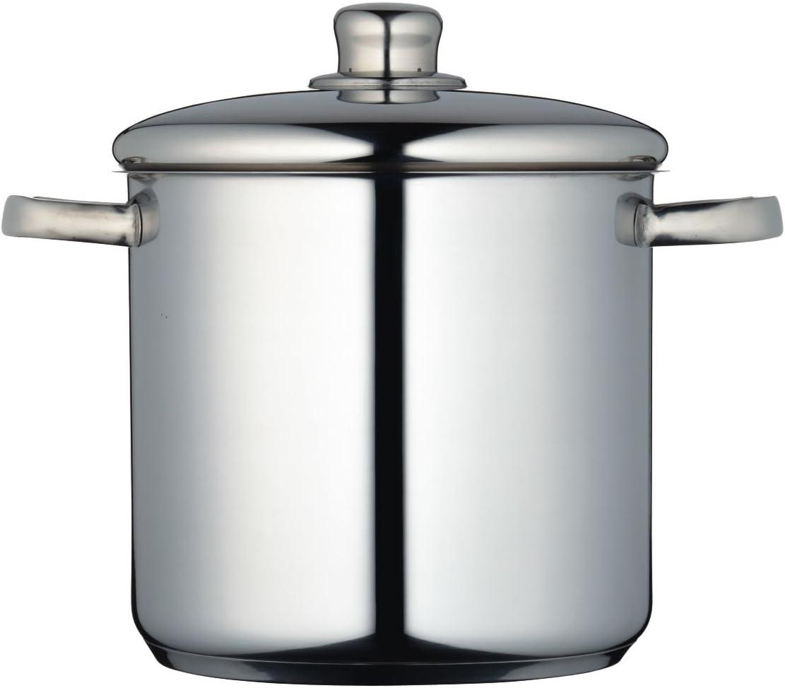 Cacerola de acero inoxidable 22/cm, 7 L Master Class MCSTPOT22