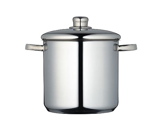 3 opinioni per Master Class- Pentola per stufato in acciaio INOX con coperchio, 20 cm, 5,5 l