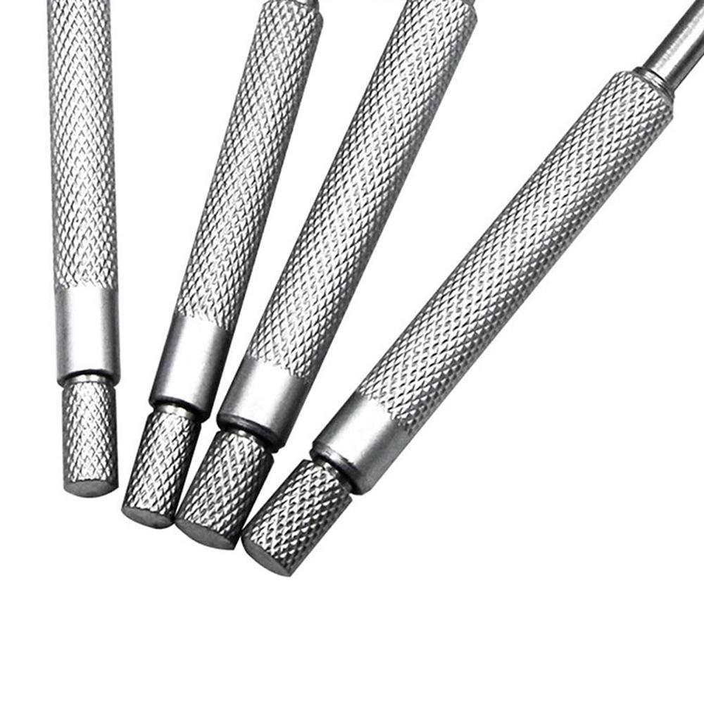 Pack of 4 Telescope Gauge Set Diameter Measuring Tool with Titanium Coated,Adjustable Durable Round Head,Diameter Measurement Gauge for Inner Bore AOLVO Bore Hole Gauge