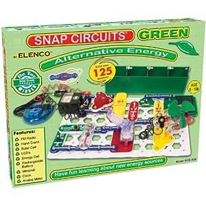 Snap Circuits Alternative Energy Green