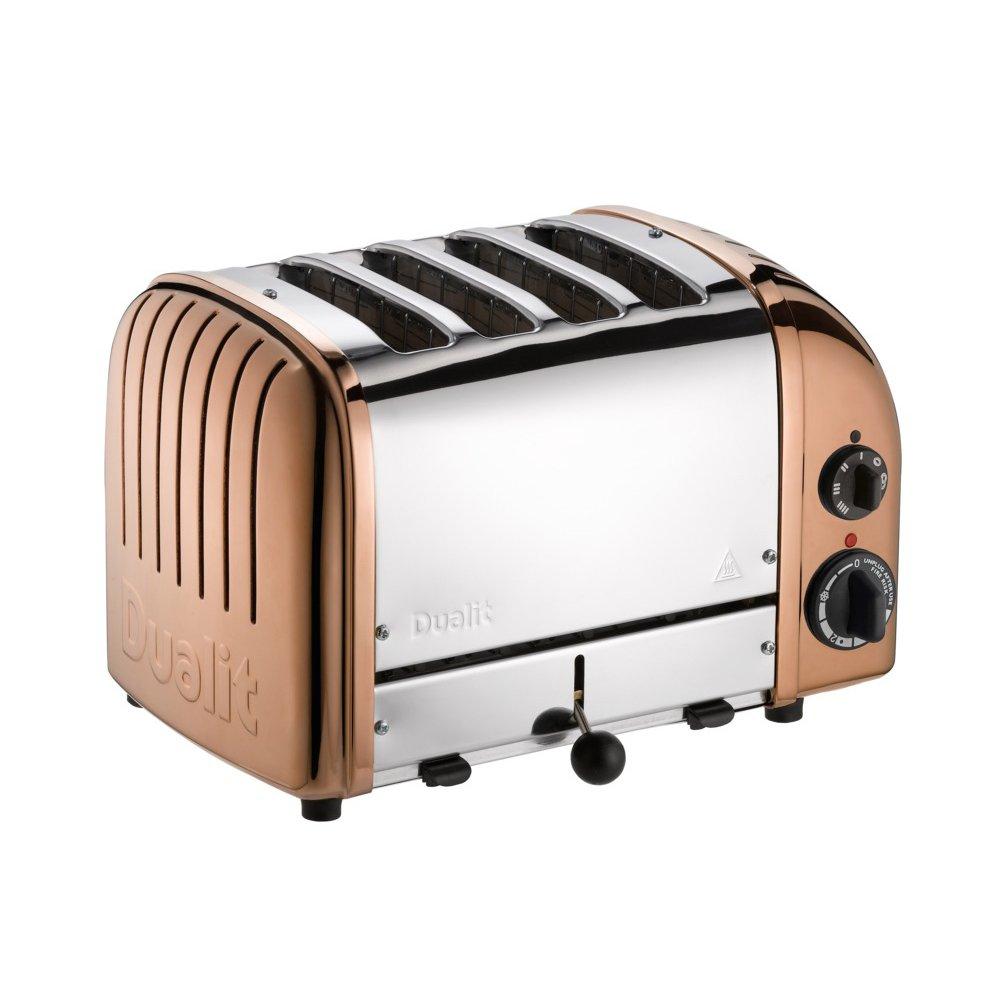 Amazon.de: Dualit 47390 Classic New Gen Vario 4 Toaster, kupfer