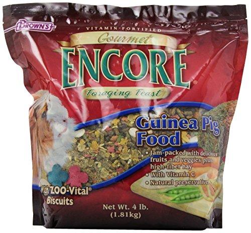 F.M.BROWN'S Encore Gourmet Guinea Pig Food, 4 Lb