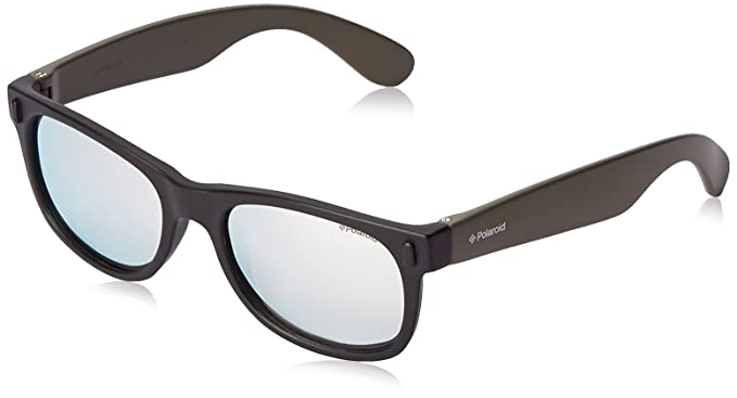 Polaroid Jungen Sonnenbrille P0115-Tcg, Schwarz (Blck Khki), 46
