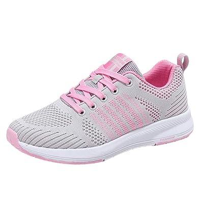 d28b3992e006d GongzhuMM Basket Sneakers Femme Chaussures de Course Chaussures de  Gymnastique Chaussures de Yoga Occasionnels Noir/