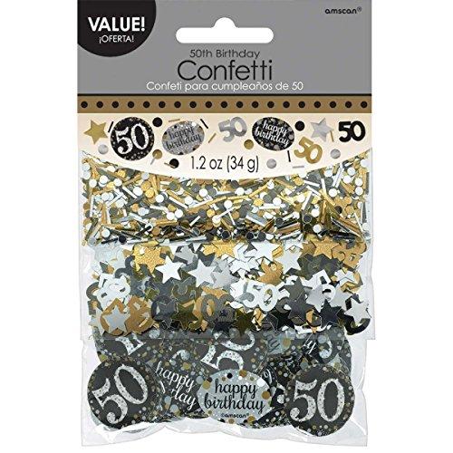 50th Birthday Confetti - 1