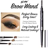 Skone Cosmetics   Totally Defined Eyebrow Wand and Pencil Liner  Waterproof   Smudgeproof   Long Lasting   Color…