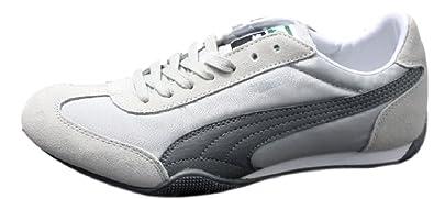 9cc4f529c6d8 Puma 76 Runner Nylon Retro Sneaker Größe EUR 42 UK 8 Grau Damen Schuhe  Racer Cat