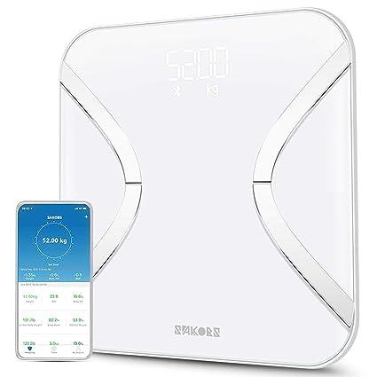 Sakobs - Báscula digital inteligente con aplicación (idioma ...