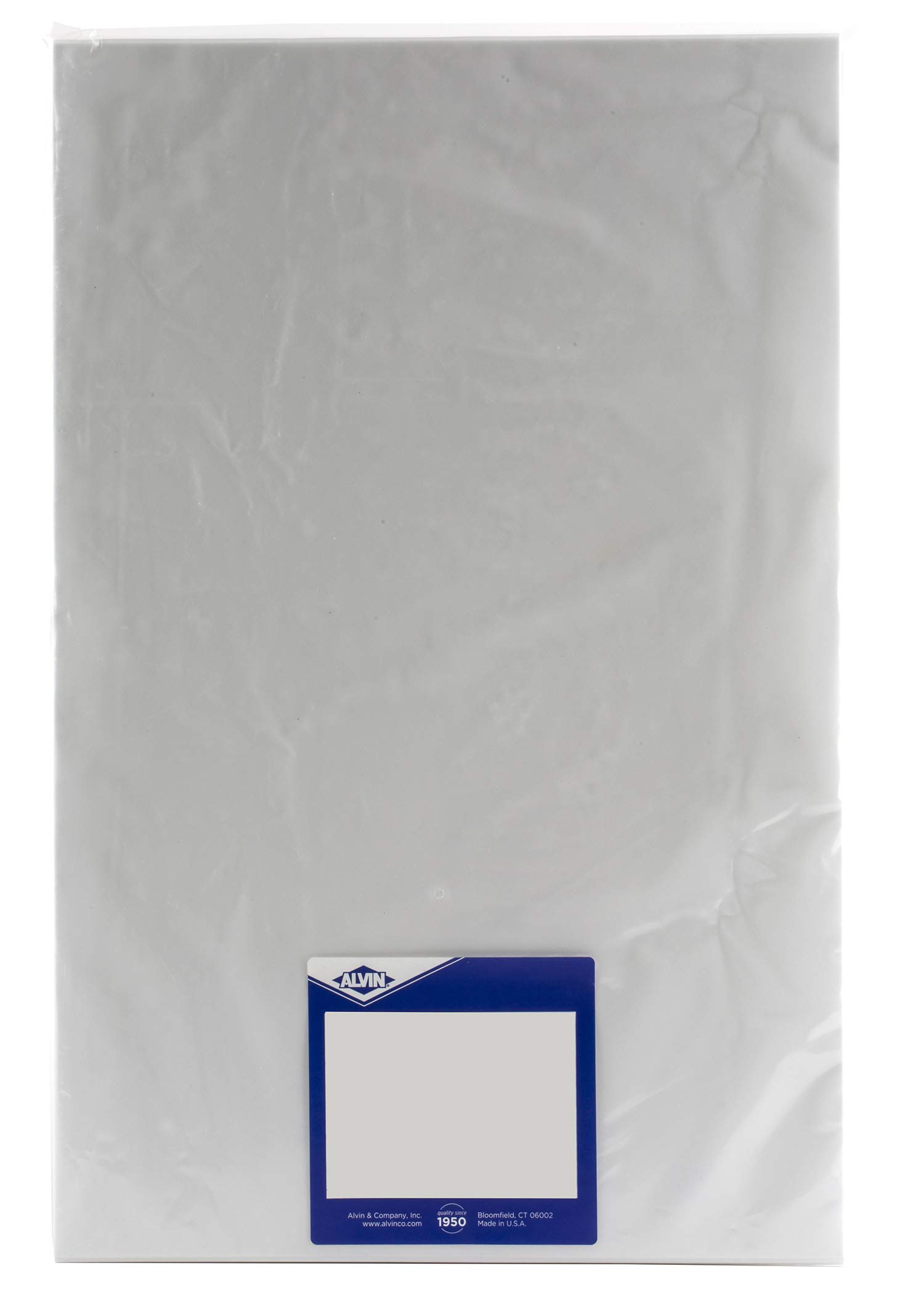 Alvin 6855/S-XO-8 Alva-Line 100 percent Rag Vellum Tracing Paper 10-Sheet Pack 18 inches x 24 inches by Alvin