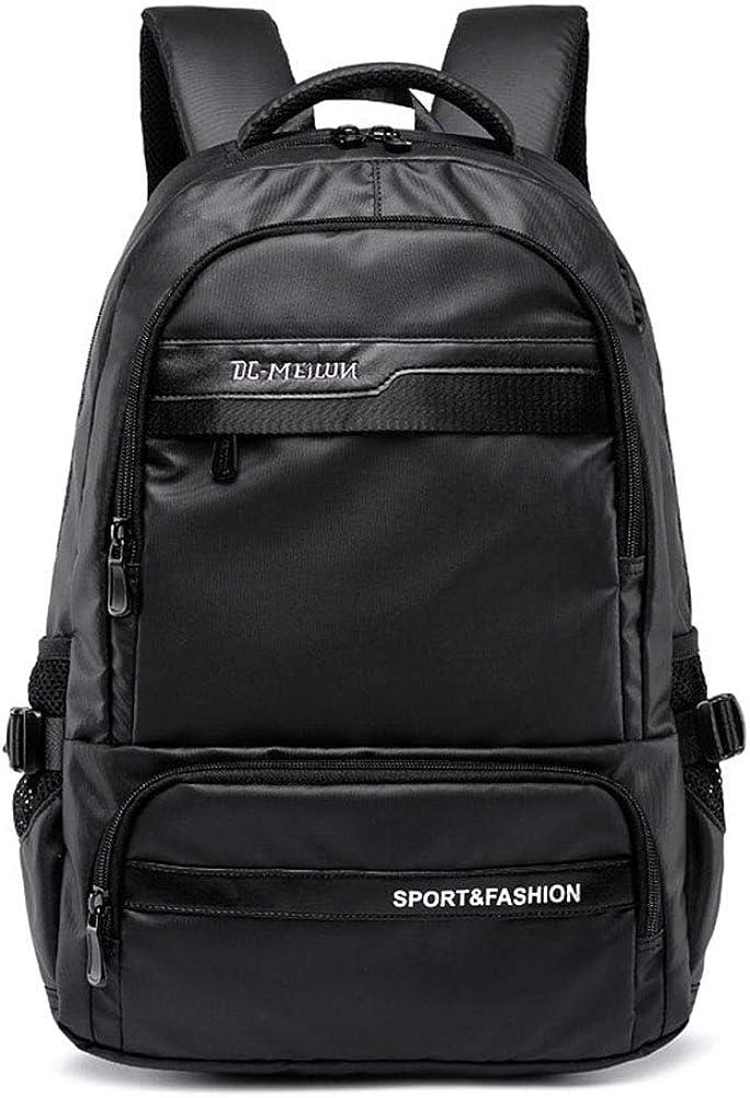 Laptop Backpack USB Charging//Headphone Jack Waterproof Polyester Fiber Leisure Vacation Business School