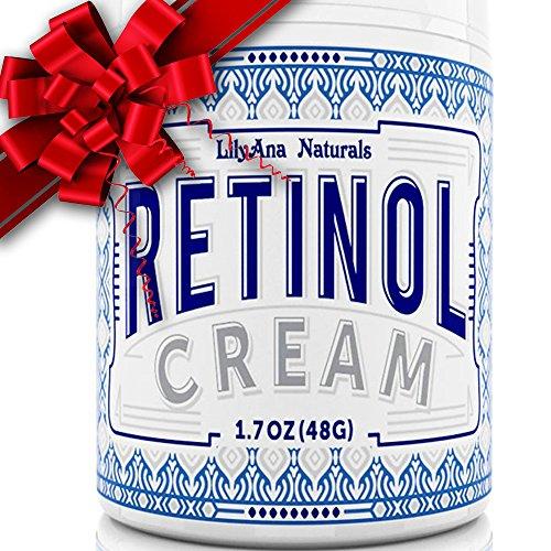 LilyAna Naturals Retinol Cream Moisturizer 1.7 Oz