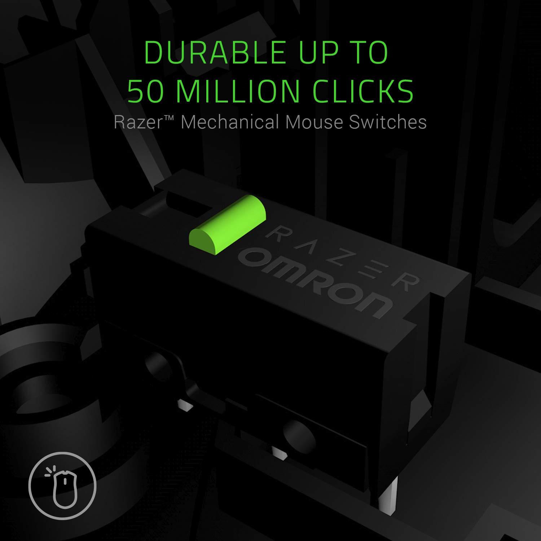 Drei austauschbare Seitenteile, Optischer 5G-Sensor mit echten 16.000 DPI, Mechanische Maustasten /& Goliathus Chroma weiches RGB Gaming Mausmatte Razer Naga Trinity MOBA//MMO-Gaming-Maus