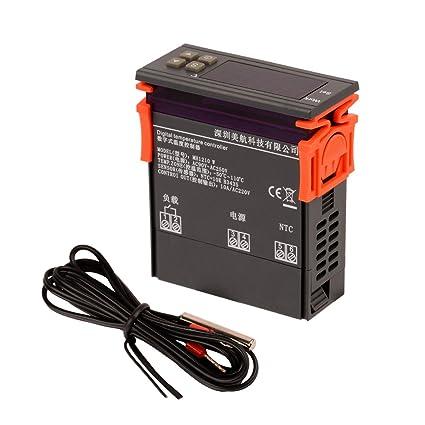 Ckeyin® Auto Termostato Digital Controlador de Temperatura Para Acuario (220V): Amazon.es: Electrónica