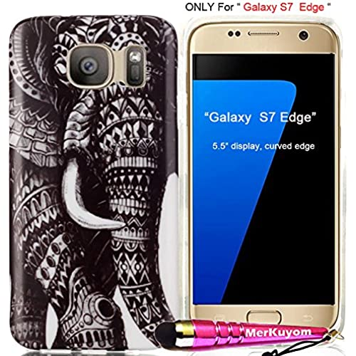 Fit [Galaxy S7 Edge], Galaxy S7 Edge Case, MerKuyom Pack- [Slim-fit] [Flexible Gel] Soft TPU Case Skin Rubber Sales
