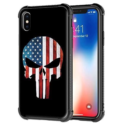 iphone xs case skull