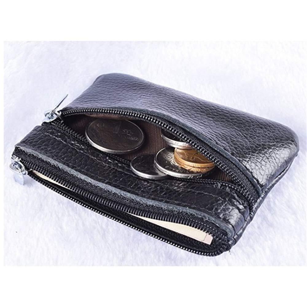 Amazon.com: Auony - Funda para monedas, con cremallera, de ...