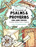 A Treasury of Psalms and Proverbs - King James Version: Vocabulary, Spelling, Comics & Copywork  - The Thinking Tree - Level C for Advanced Students