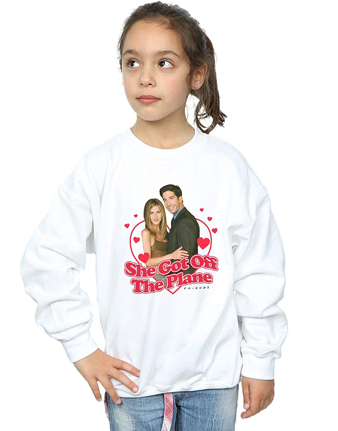 Friends Girls She Got Off The Plane Sweatshirt