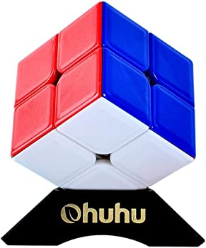 Ohuhu 2x2x2 Speed Cube with Stand