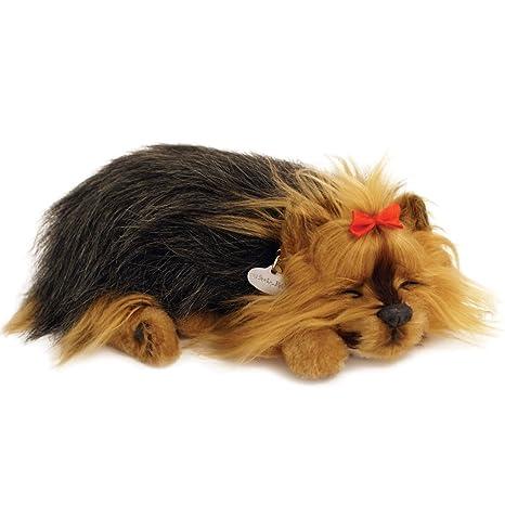 Amazoncom Perfect Petzzz Yorkie Breathing Puppy Dog Plush Set W