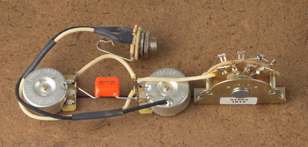 Telecaster Wiring Harness - Wiring Diagram Shw on
